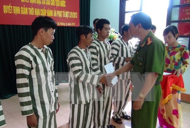 特赦体现越南国家人道政策的优越性 hinh anh 1