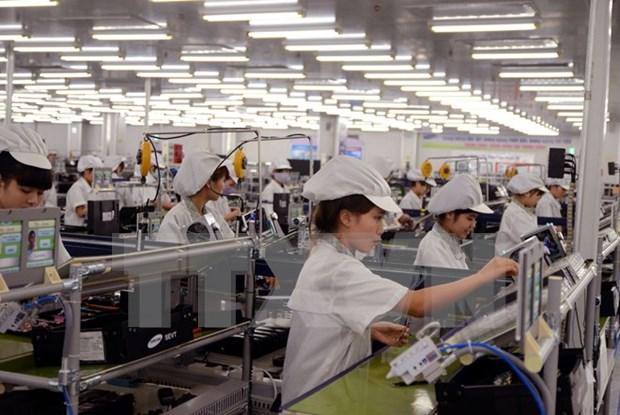 外商投资企业进出口总额占全国进出口总额的63.5% hinh anh 1