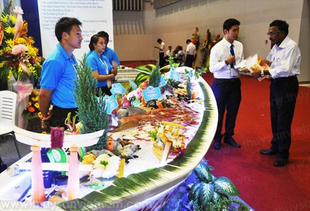 2015越南国际水产品及加工机械展览会在胡志明举行 hinh anh 1