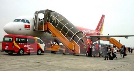 越捷航空公司跻身世界增长率最佳航空公司前三名之列 hinh anh 1