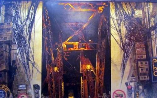 第20届河内第一区绘画展开幕 hinh anh 1