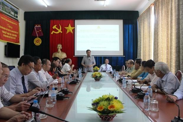 越南与柬埔寨加强合作协助橙毒剂受害者 hinh anh 1