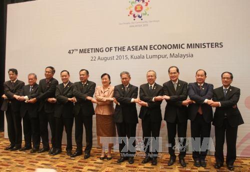 越南积极和主动参加第47届东盟经济部长会议及系列会议 hinh anh 1