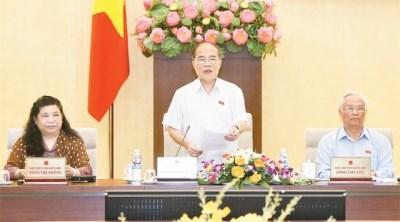 越南专职国会代表会议在河内闭幕 hinh anh 1