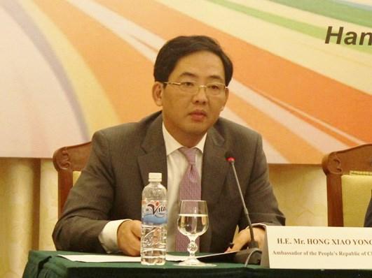 中国驻越大使洪小勇:越南外交部门为推进越南社会主义建设和革新事业发展作出贡献 hinh anh 1
