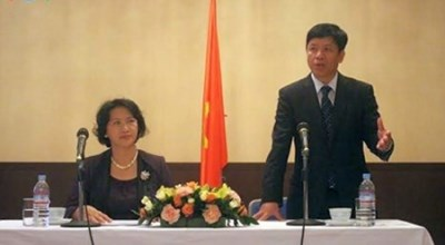 庆祝外交部门成立70周年活动在各国举行 hinh anh 1