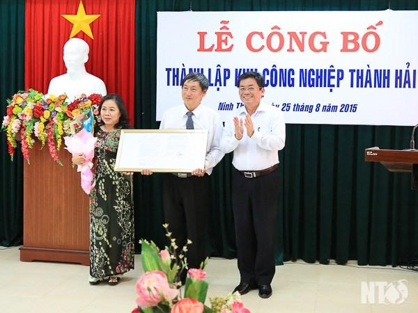 越南宁顺省成立城海工业区 hinh anh 1