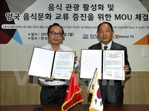 韩国与越南加强饮食文化交流 hinh anh 1