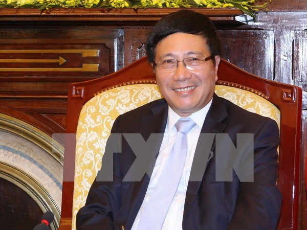 范平明副总理:越南外交为推动国家进入新纪元作出贡献 hinh anh 1
