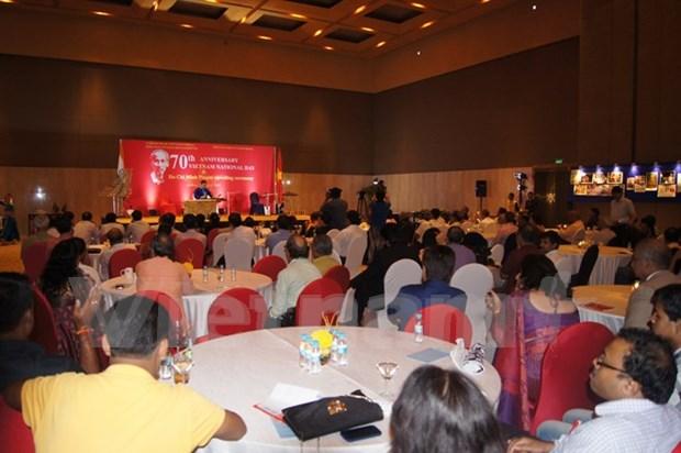 印度西孟加拉邦庆祝越南八月革命和九·二国庆节 hinh anh 1