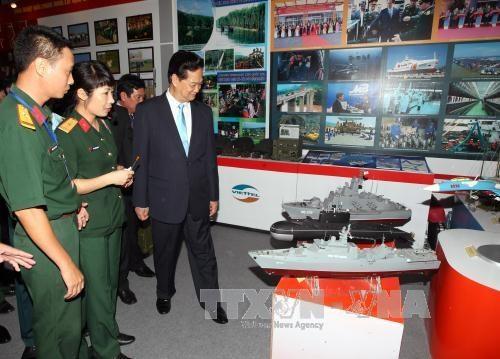 越南70周年经济社会成就展展出一个面貌日新月异的越南 hinh anh 2