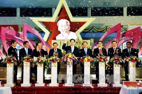 越南70周年经济社会成就展展出一个面貌日新月异的越南 hinh anh 1