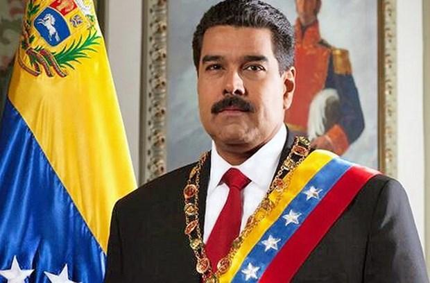委内瑞拉总统马杜罗与夫人对越进行正式访问 hinh anh 1