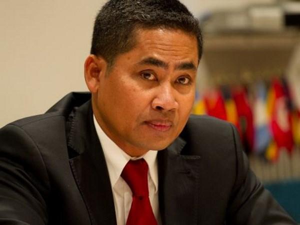 柬埔寨承诺继续为东盟发展做出贡献 hinh anh 1