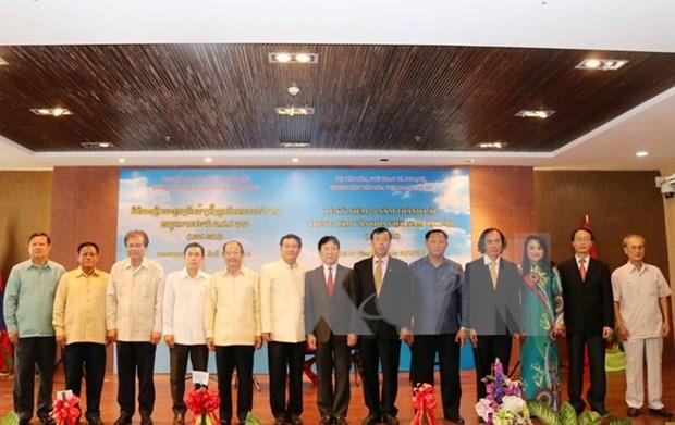老挝越南文化周在万象亮相 hinh anh 1