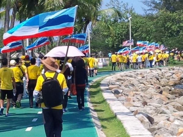 马来西亚总理:示威者不爱国 hinh anh 1