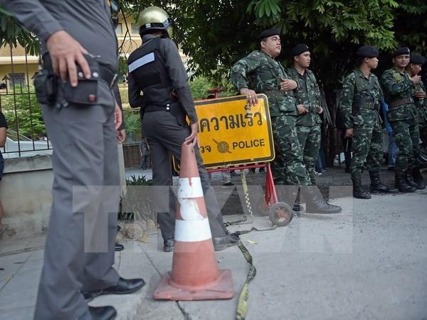 曼谷爆炸案嫌犯否认涉案 泰国警方扩大搜捕范围 hinh anh 1