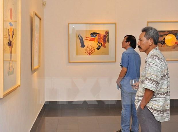 第20次红河平原地区美术展在河南省开展 hinh anh 1