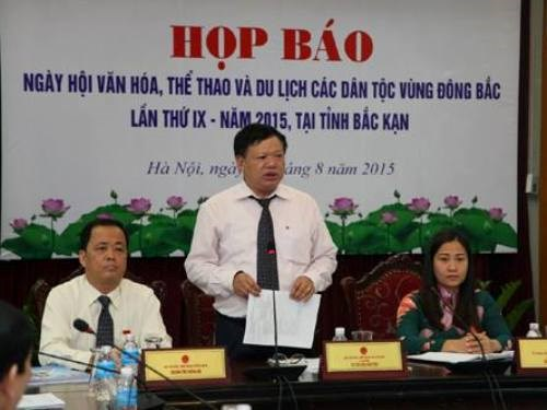 第九届越南东北部各民族文化体育旅游节即将在北件省举行 hinh anh 1