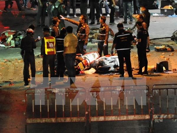 泰国总理和外交部长致电慰问在曼谷爆炸案受伤的越南公民 hinh anh 1