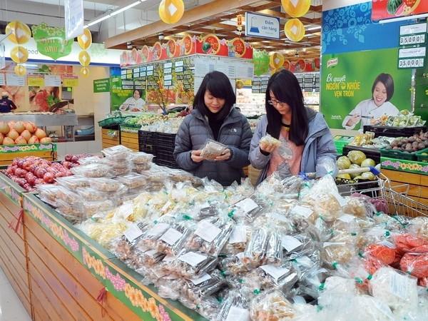 今年8月份越南货物零售额继续稳步增长 hinh anh 1