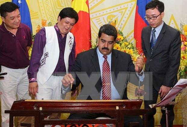 委内瑞拉总统马杜罗对越南进行的正式访问圆满结束 hinh anh 1