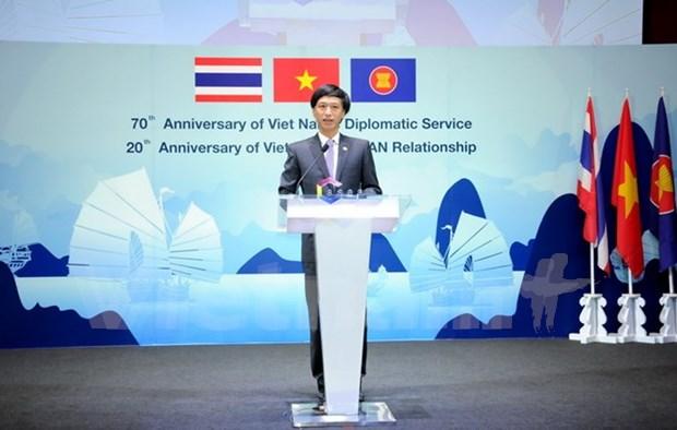 越南加入东盟20周年纪念典礼在泰国举行 hinh anh 1