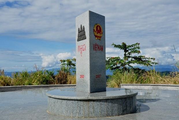 柬埔寨对越柬界碑破坏案进行调查 hinh anh 1