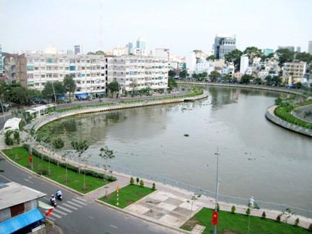 胡志明市绕禄—氏艺运河旅游线路正式投运 hinh anh 1