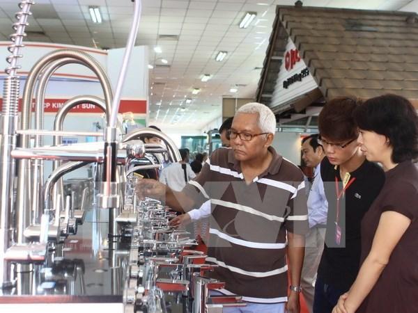 2015年第2届越南建材展在胡志明市开展 hinh anh 1