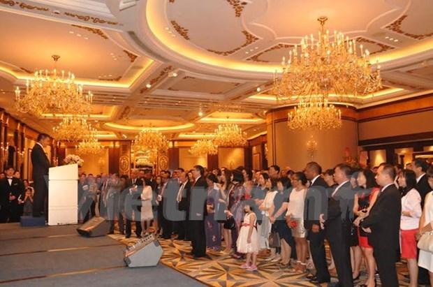 越南驻中国香港与澳门总领事馆举行宴会庆祝越南国庆节 hinh anh 1