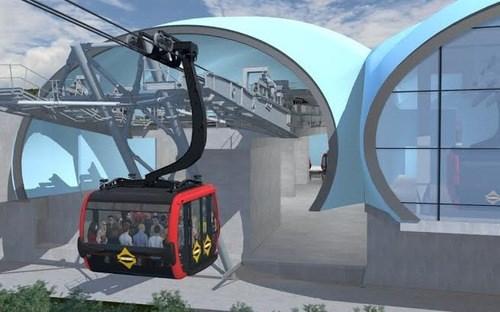 菠萝岛-富国缆车和海洋游乐园建设项目正式动工 hinh anh 1
