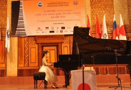 第三届河内国际钢琴比赛正式开赛 hinh anh 1