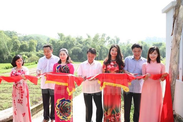 越南通讯社寻根之旅活动在宣光省举行 hinh anh 1
