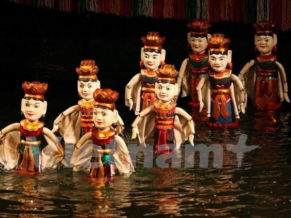 越南水上木偶戏亮相2015年皮尔森国际偶戏节 hinh anh 1