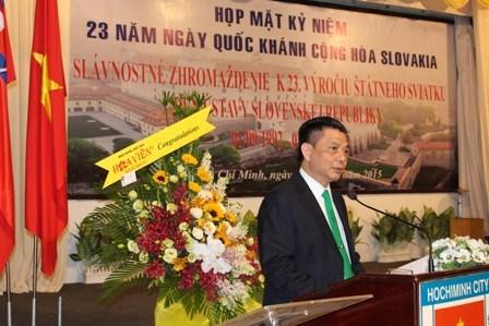 斯洛伐克国庆23周年庆祝活动在胡志明市举行 hinh anh 2