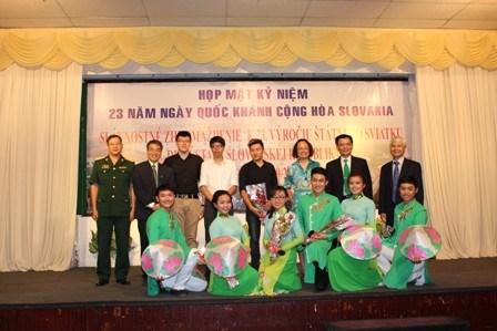 斯洛伐克国庆23周年庆祝活动在胡志明市举行 hinh anh 1