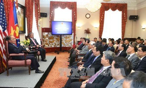 越南国会主席阮生雄:越美两国国会合作为促进两国务实合作扮演着十分重要角色 hinh anh 2