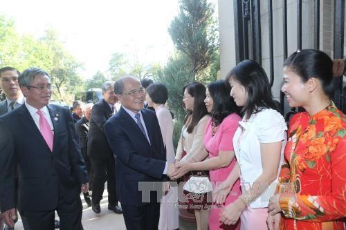 越南国会主席阮生雄:越美两国国会合作为促进两国务实合作扮演着十分重要角色 hinh anh 1