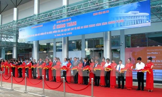 越南波来古机场升级改造项目正式落成 hinh anh 1