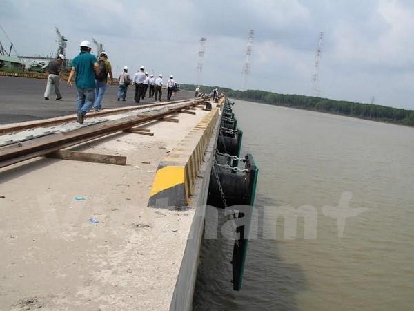 同奈省首个三万吨级码头正式投运 hinh anh 1