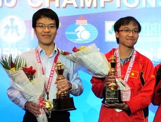 越南两名棋手将参加2015国际象棋世界杯男子个人赛 hinh anh 1