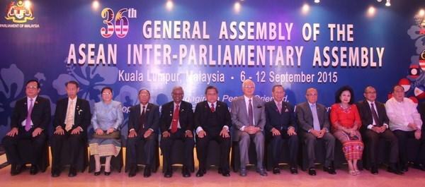 东盟议会联盟第36次大会在马来西亚隆重开幕 hinh anh 1