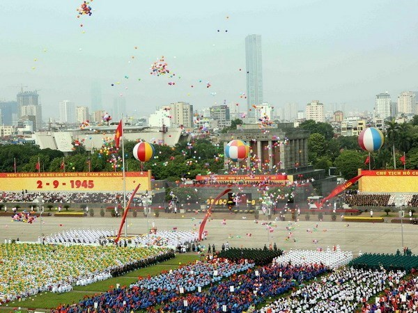 世界各国领导继续致电祝贺越南国庆70周年 hinh anh 1