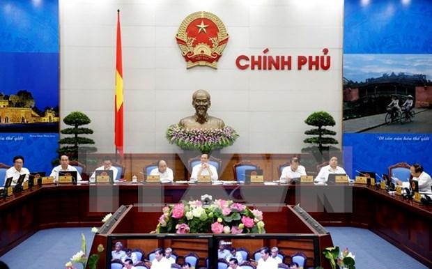 越南政府发布2015年8月例行会议决议 hinh anh 1