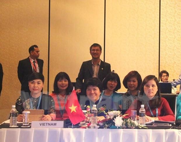 越南出席在马来西亚举行的第36届东盟议会联盟女议员会议 hinh anh 1