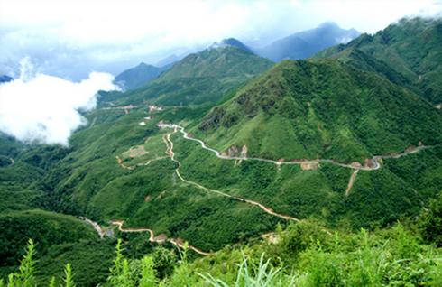 黄连山山口被公认为越南国家级风景名胜区 hinh anh 1