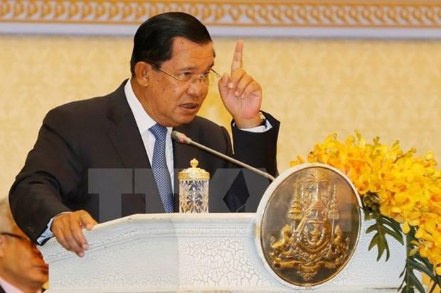 柬埔寨首相洪森支持逮捕伪造越柬边界协议的反对党议员洪速华 hinh anh 1