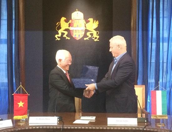 越南胡志明市与匈牙利首都布达佩斯合作不断走向深入 hinh anh 1