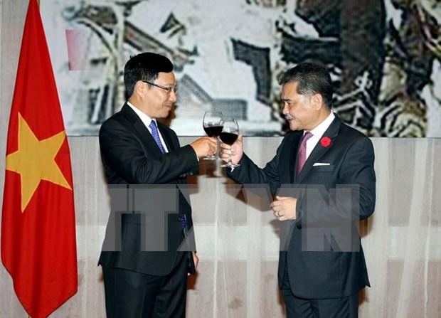 马来西亚驻越南大使馆举行国庆招待会 hinh anh 1